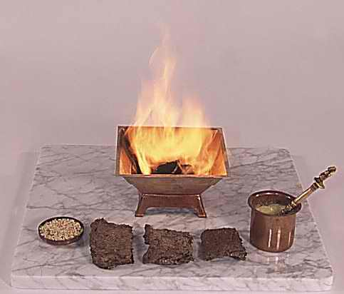 Materials required for Agnihotra